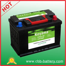 57531mf- 12V / 75ah Automobile Car Battery