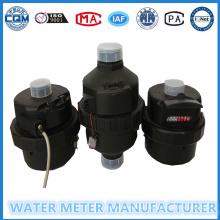 Medidor volumétrico de água do corpo plástico