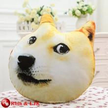 Cartoon weichen Plüsch Hund Spielzeug Hund geformt Kissen Doge Kissen