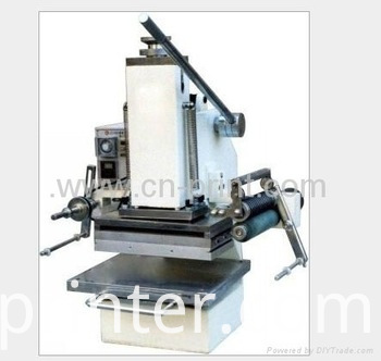 Desktop stamping machine