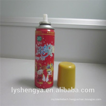 Eco-friendly party crazy color string spray