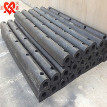 D shape marine solid rubber fender rubber dock fender