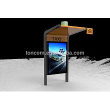 YZP-7 открытый стенд приюта для такси