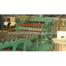 Automatic Hydraulic Punching PLC Control Steel Silo Roll Forming Machine