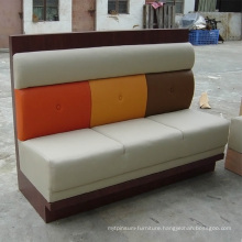 Best Selling Leather Wooden Sofa with New Design