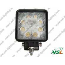 24W 3W * 8PCS LED Arbeitsscheinwerfer für ATV SUV LKW Bagger Gabelstapler Bleistift Beam Light