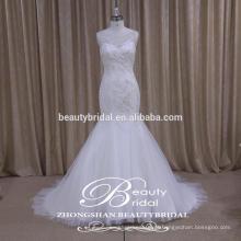 Glamour High Quality Sparkle vestido de noiva sobrestimado da Fábrica Profissional da China