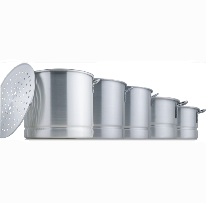 Aluminum Stock Pot Sets With Steamer 2052