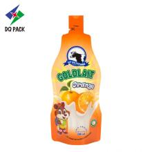 Juice injected pouch plastic packaging bag