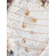 Collier pendentif feuille de fleur BJD pour poupée SD / MSD / YOSD