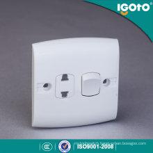 Igoto British Standard E116-1 1 Gang 2 Pin Switch Socket