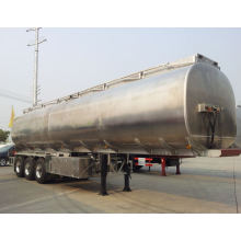 Stainless Steel Milk Transport Trailer in 40tons Milk Truck Trailer