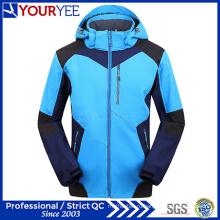 Пользовательские OEM ODM моды Softshell куртка с капюшоном (YRK118)