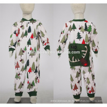 2016 hochwertige fabrik versorgung gedruckt mode weihnachten pyjamas familie