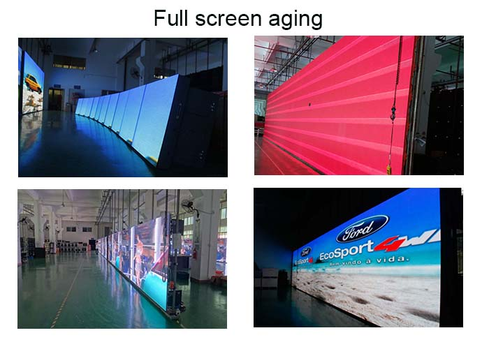 vivid pictures high gray scale led video wall