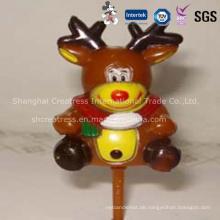 Heißer Verkauf personalisierte Kunststoff Weihnachtsschmuck