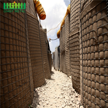 Hesco Barrier Bastion Gabion Box Ledakan-Bukti Dinding