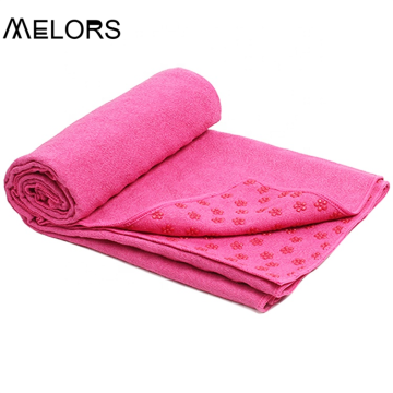 Melors Custom Logo OEM Non-Slip Gym Beach Towel