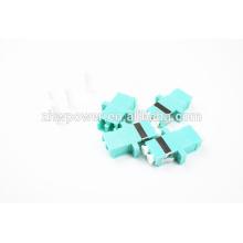OM3 Fibra Óptica LC adaptador / adaptador / 10G LC Duplex Modo Multi