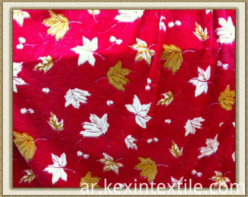 Polyester Coral Fleece Fabric