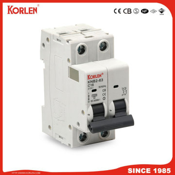 KORLEN νέος τύπος KNB2-63S1 Miniature Circuit Breaker 10KA with CE CB SEMKO