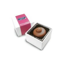 Caixa de embalagem de presente com chocolate quente e caixa de embalagem de doces