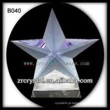 K9 brilhando estrela de cristal