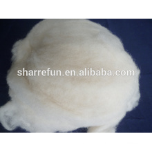 Factory stock supply washed carded chinese sheep wool