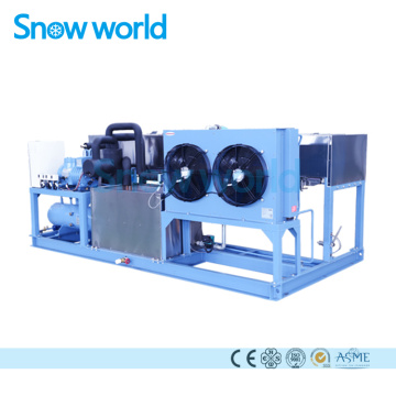 Snow world 1T Industri Machine à glace en blocs