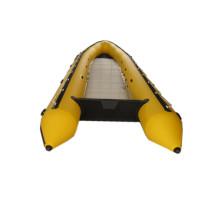 Stock Angeln Boot Inflatable Rubber Festrumpfschlauchboot