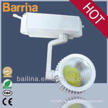 30w led indoor light beam angle 45 degree track light suspended