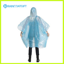 Lightweight Clear PE Disposable Raincoat Rpe-007