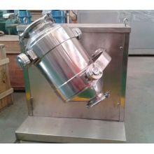 2017 SYH series multi-direction motion mixer, SS double cone blender principle, horizontal ribbon mixer price