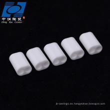 Cerámica de alúmina blanca para sensores.