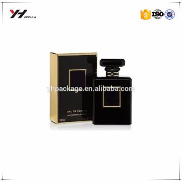 Packaging luxury paper gift box high quality custom uv printer for men's perfume