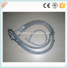 Carbon steel, stainless steel Whip check safety cable made in China