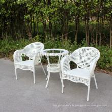 Ciao Furniture Nouveau design table basse patio et chaises