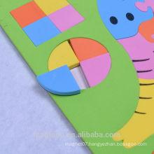customized elephant shape EVA magnet ,souvenir fridge magnet