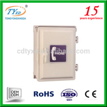 custom factory metal optical waterpproof outdoor telephone distribution box