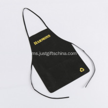 Promosi Imprinted Non Woven Apron Tanpa Pocket