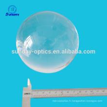 Lentilles hémisphère saphir de 50 mm de diamètre