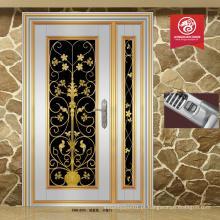 China fabrica nova porta de entrada design de porta de aço inoxidável