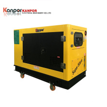 5kw Water Cooled Silent Electric Start Portable Diesel Generator