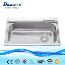 DS8050 Single Bowl Sink Style and Square Bowl Shape Caravan folding wash basin