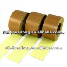 aislamiento de calor de PTFE recubierto de tela de fibra de vidrio