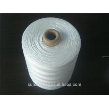 high quality polyester bag closing thread 20S/6