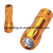 Luz de aluminio de la batería de la batería seca (CC-017)