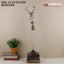 Wholesale factory price metal deer head statue for sale