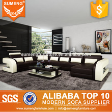 guangzhou new styles living room furniture original design sectional sofa set