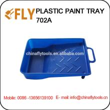 """Bandeja de pintura plástica azul de 7 """""""